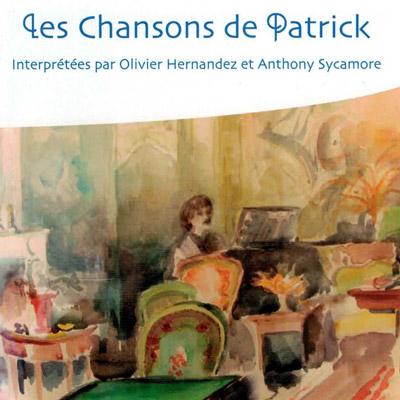"""Pochette de l'album """"Les Chansons de Patrick"""""""